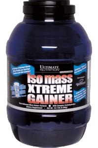 Isomass Xtreme Gainer 3 5lbs iso mass xtreme gainer ultimate nutrition suplemen