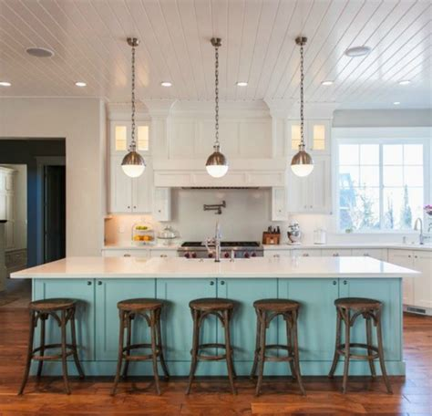 5 ways to fake a kitchen island infarrantly creative 5 ways to get this look blue island kitchen infarrantly