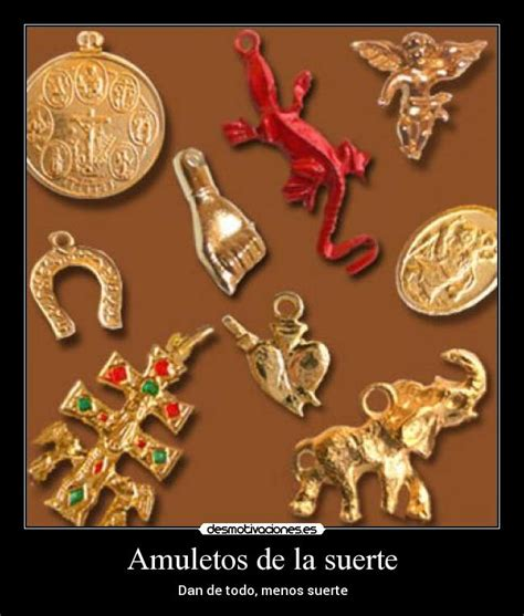 amuletos de la suerte desmotivaciones