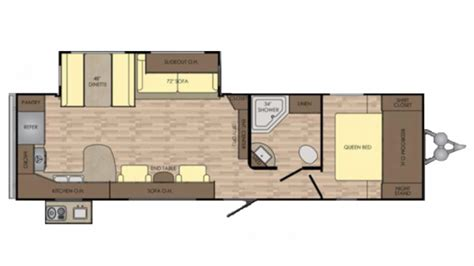 crossroads travel trailer floor plans crossroads zinger zr30rk travel trailer floor plan