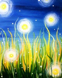 paint nite yellow 1000 ideas about firefly painting on easy