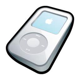 ipod video white icon mp3 players icons softicons.com