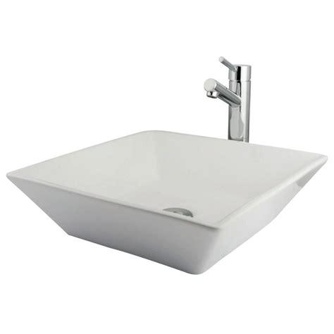 kingston brass vessel sink kingston brass evks4256c vessel sink with concord faucet