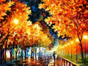 the fusion of colors in leonid afremov s nostalgic oil