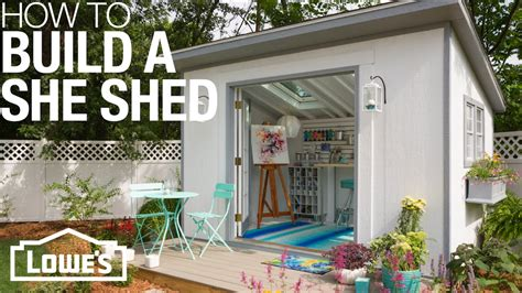 sheds plans    build customize youtube