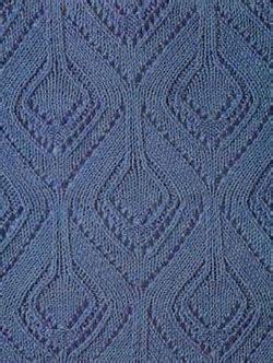 diamond shaped knitting pattern lace diamond shape knit stitch knitting bee