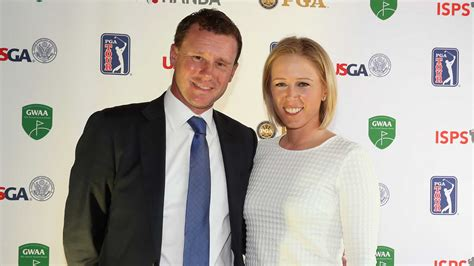pressel andrew bush lewis and pressel in attendace for isps handa gwaa awards