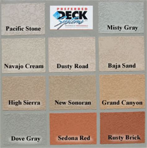 preferred deck coloring method products pref deck