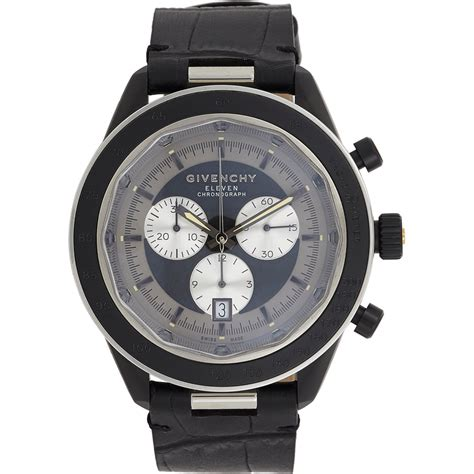 givenchy eleven chronograph in black lyst