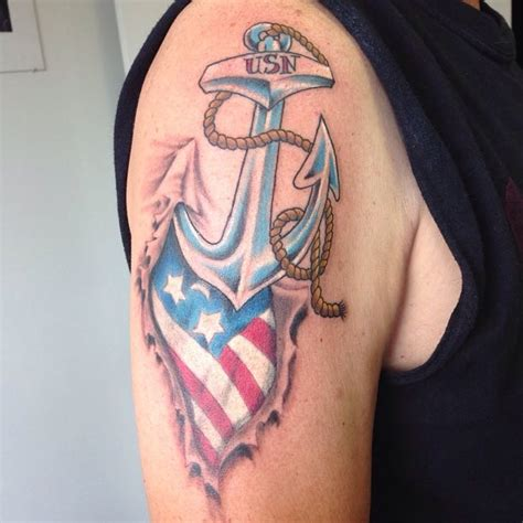 usn tattoos 43 most popular anchor tattoos designs and their meanings