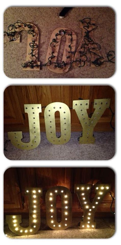 joy light up sign make this beautiful light up joy sign in just a few