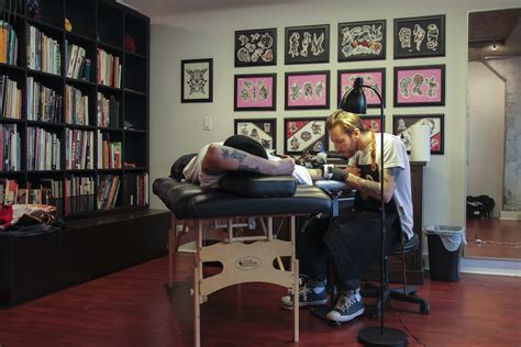 slow down tattoo studio the hundreds