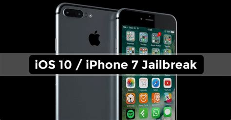 iphone 7 ios 10 has been jailbreaked within 24 hours naijatechguy tech news phone reviews