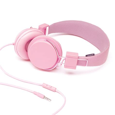 Headphone Pink Urbanears Plattan Headphones Pink Headphones From The