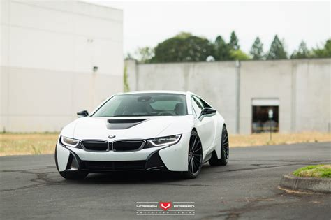 bmw i8 wheels bmw i8 on vossen forged vps 305 concave wheels