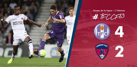 toulouse clermont 42 clermont foot 63