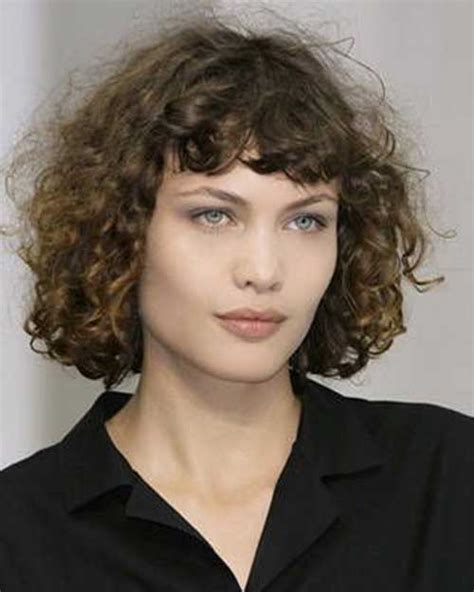 short bob haircut with wavy perm 15 curly perms for short hair short hairstyles 2016
