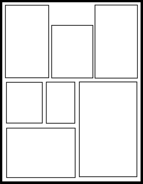 comic template smt 43 by comic templates on deviantart