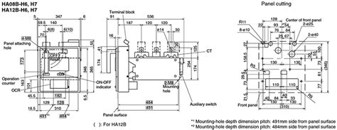 circuit breaker panel dimensions wiring diagrams wiring