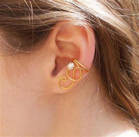 diy ear cuff beautiful diy ear cuffs for s and diy and crafts
