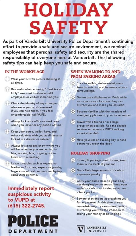 9 Tips For Traveling During The Holidays by Vanderbilt Department Offers Safety Tips For Your