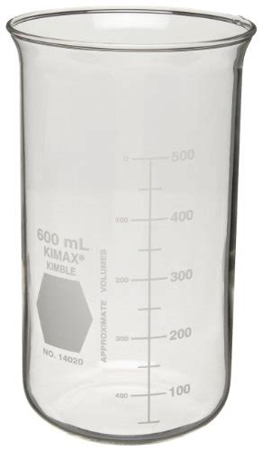 Beaker Glass 400ml Hihg Form Without Spout Duran 21 117 41 kimble 14020 400 borosilicate glass form berzelius beaker without spout 400ml capacity