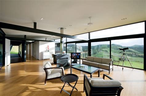 home new zealand architecture design and interiors truss style new zealand glass house with complex interior