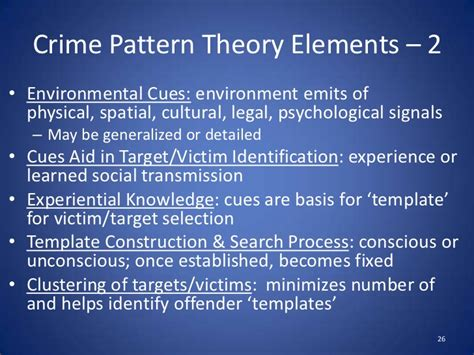 crime pattern theory brantingham 03 crime as choice