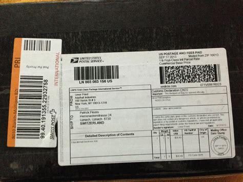 Adressaufkleber Schweiz by Philaseiten De Internationale Pakete Aufkleber Labels