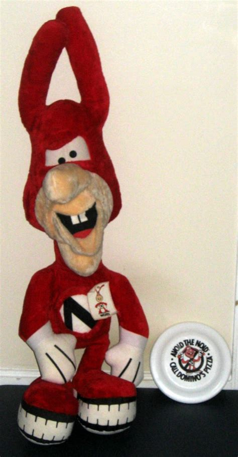 domino pizza noid sold avoid the noid 48 inch plush doll toy dominos pizza