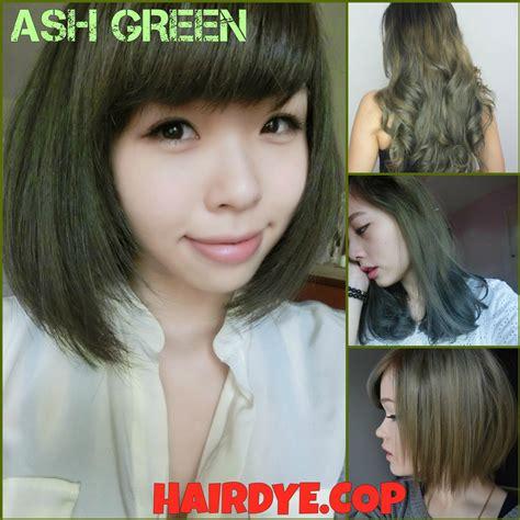 cheap hair color ash green cheap hair dye shopee singapore