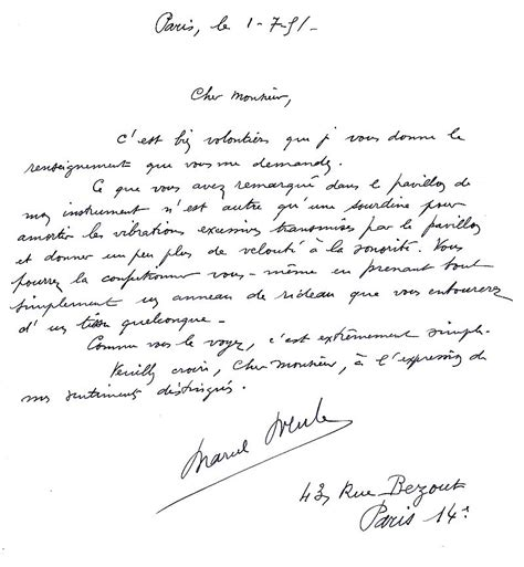 Exemple De Lettre Du Xix Siecle Modele Lettre 19eme Siecle Document