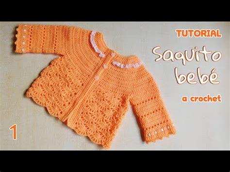 chambritas tejidas a dso agujas con canesu redondo paso a paso como tejer saco y chaleco bebe a crochet 1 3 youtube