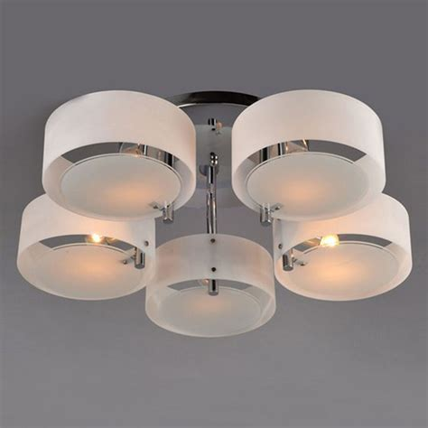Modern Ceiling Lighting Fixtures Modern Acrylic Chandelier Ceiling L Pendant Light Fixture Flush Mount Chrome Ebay