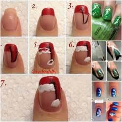 20 cutest christmas nail art diy ideas