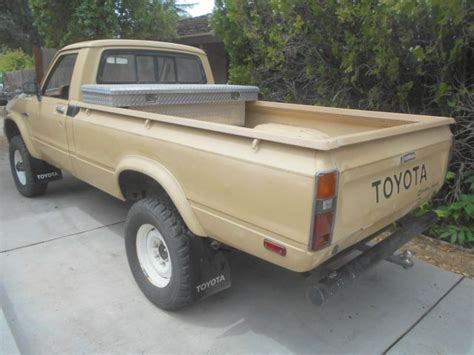 long bed truck 1981 toyota 4x4 long bed pickup