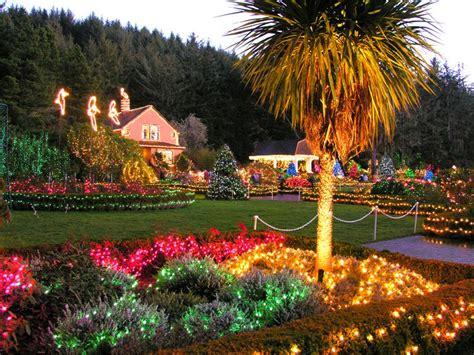 Charleston Botanical Gardens Shore Acres State Park Lights Up Oregon Coast Visitors Association