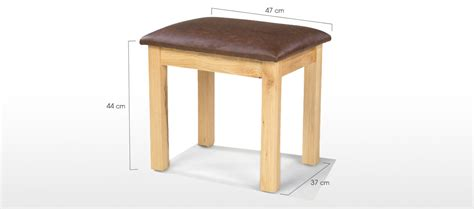 Stool Dressing Table by Constance Oak Dressing Table Stool Quercus Living