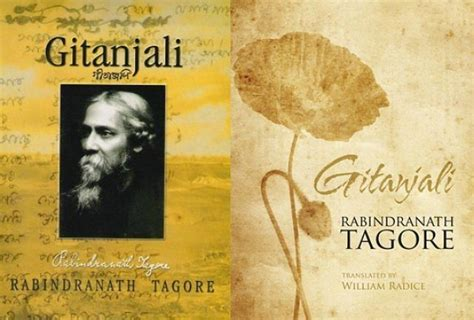 biography of english literature authors talk quot gitanjali reborn william radice s writings on