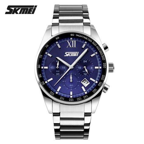Jam Tangan Pria Jam Tangan Wanita Skmei Combat Skmei Airplane skmei jam tangan analog pria 9096cs blue jakartanotebook