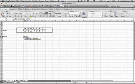 Spreadsheet Converter by Binary Converter Spreadsheet