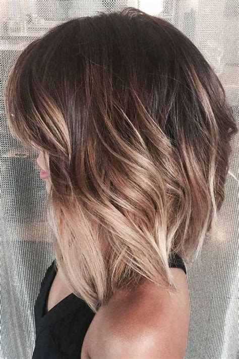 ambre hairstyle on short hair 50 classy modern haircuts for effortlessly stylish look