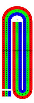 Printable Cribbage Board Template by Pdf Printable Cribbage Board Plans Free
