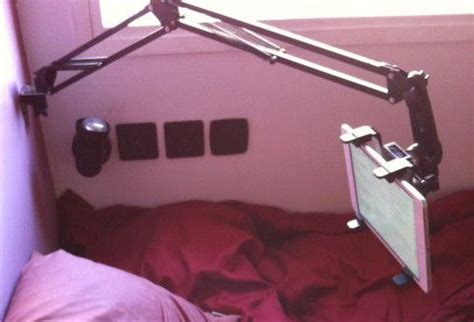 5 awesome diy tablet mounts for bed: vote for the best and