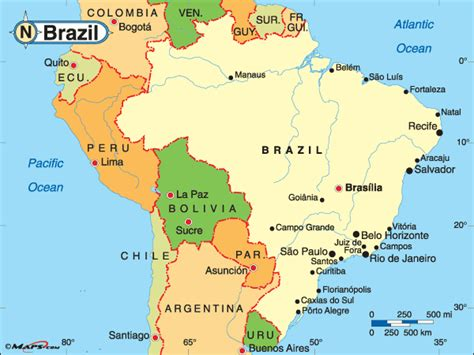 political map brazil maps101 login