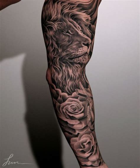 rose tattoo sleeve for men 25 best ideas about sleeve tattoos on