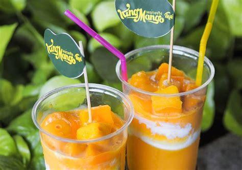 resep minuman mangga ala thailand king manggo thai