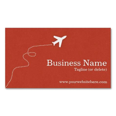 add a card template to magiccardeditor modern and simple travel business cards make your own