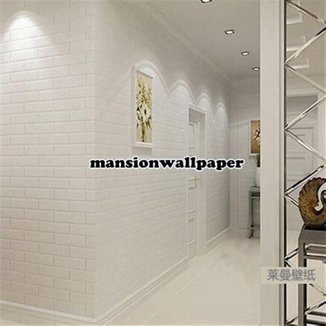 jual wallpaper dinding bata putih murah  lapak romli