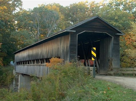 Ashtabula Co Ohio Marriage Records File Middle Road Ashtabula County Ohio Covered Bridge 2